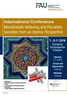 "Zum Artikel ""Impressionen von unserer internationalen Konferenz ""Monotheistic Believing and Pluralistic Societies from an Islamic Perspective """""